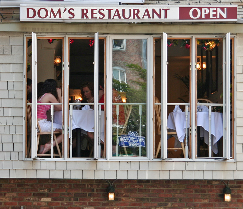 Dom's restaurant in Boston (North End)