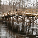 Concord, MA. Bridge in Minutemen historical park