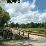 Old bridge. Minuteman museum, Concord, MA